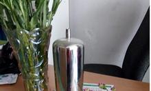 Cốc lọc khí lọc vi sinh 5 inch chất liệu inox 316 dùng cho lọc dược