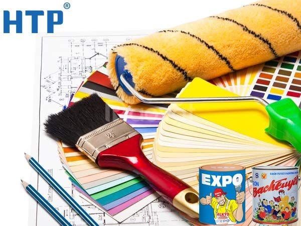 Sử dụng sơn chống rỉ expo cho bề mặt sắt thép trong và ngoài trời