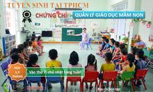 Địa chỉ cấp chứng chỉ quản lý giáo dục mầm non tại TPHCM