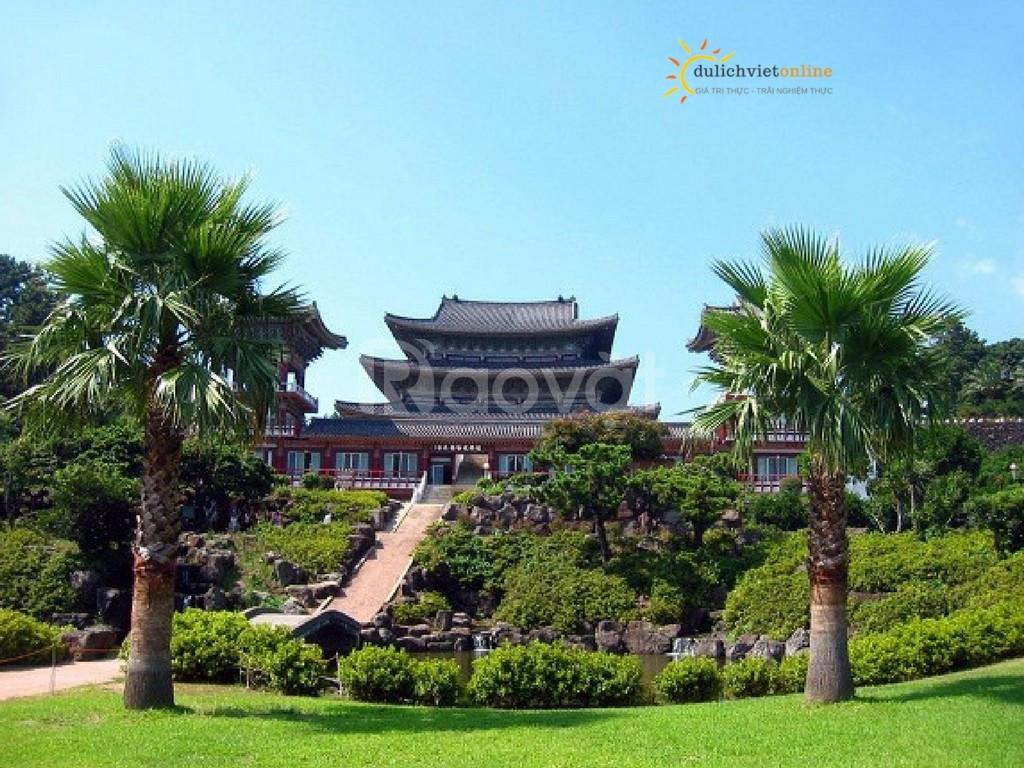 Tour du lịch Seoul - Jeju - Lotte World - Nami 6N5Đ