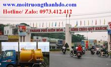 Rút hầm cầu KCN Biên Hòa Đồng Nai uy tín chuyên nghiệp giá rẻ