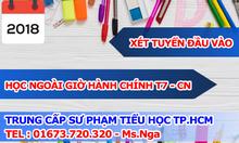 Tuyển sinh xét tuyển trung cấp sư phạm tiểu học 2018 tại Hồ Chí Minh