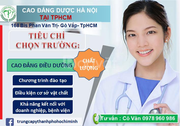 Vì sao nên học cao đẳng Điều dưỡng TpHCM?