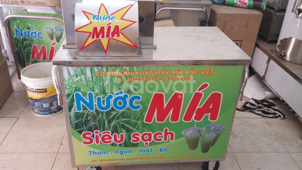 Máy ép nước mía siêu sạch, máy ép nước mía Bắc Việt