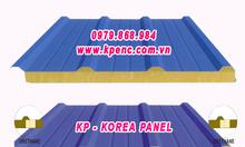 Panel mái bông sợi thủy tinh chống cháy, chống nóng, chống ồn