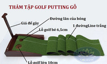 Thảm tập golf putting Gomip23