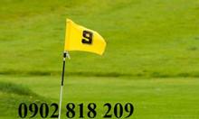 Cờ sân tập golf, lá cờ golf có cán nhựa