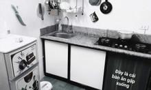 Cắt đá bàn bếp, cắt đá bếp từ, khoét đá, vá đá bếp, sửa điện lắp bếp