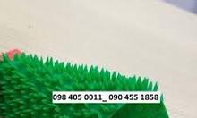 Thảm nhựa hoa cúc chống trơn giá rẻ 120k/m