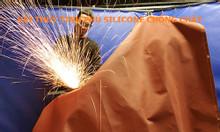 Vải thủy tinh phủ silicone chống cháy nhiều độ dày