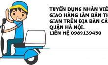 Cần tuyển người giao hàng làm bán thời gian tại Hà Nội