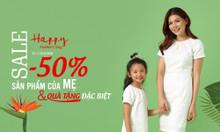 Tặng 50% sản phẩm cho mẹ và quà tặng đặc biệt