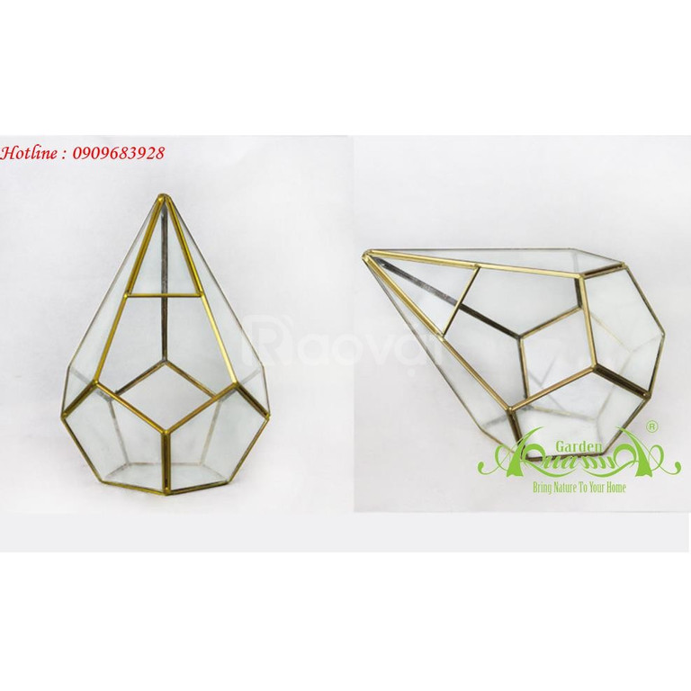 Thủy tinh đa giác - Đẳng cấp trang trí sang trọng