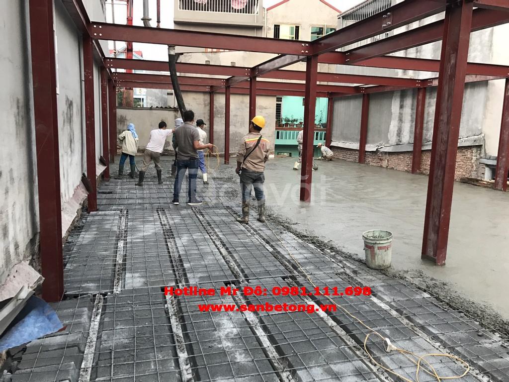 Báo giá thi công sàn bê tông nhẹ năm 2019