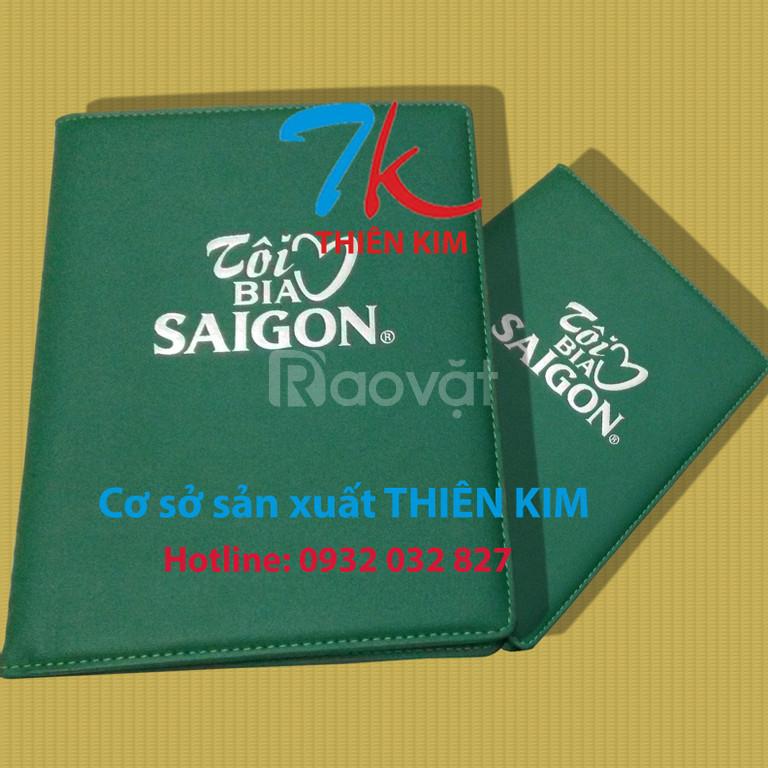 Cơ sở sản xuất bìa menu da, bìa đựng bằng khen da, bìa sổ tay simili