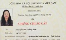 Chứng chỉ cấp dưỡng học tại Hồ Chí Minh