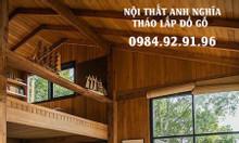 Tháo lắp đồ gỗ nhanh chóng giá tốt tại Hà Nội