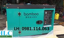 Máy phát điện chạy dầu Bamboo 7kva chính hãng giá tốt