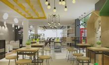 Thiết kế trang trí quán cafe