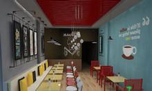 Thiết kế trang trí quán cafe giá tốt