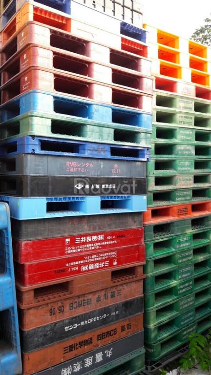 Công ty cho thuê mua bán pallet nhựa Phú Thọ, pallet nhựa cũ Phú Thọ