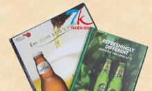Xưởng sản xuất bìa menu, chuyên làm cuốn menu, làm quyển menu