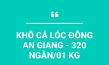 Khô cá lóc đồng An Giang