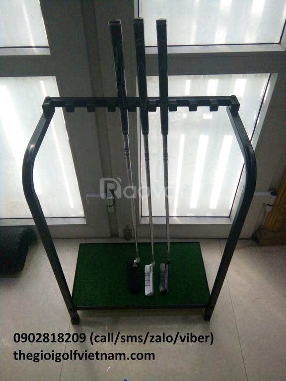 Giá để gậy golf, giá dựa 9 gậy golf mới 100%