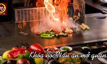 Khai giảng khóa học nấu ăn mở quán tại Hà Nội