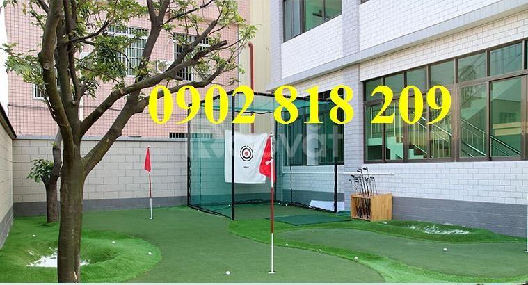Lồng tập golf tại nhà, khung lưới chơi golf