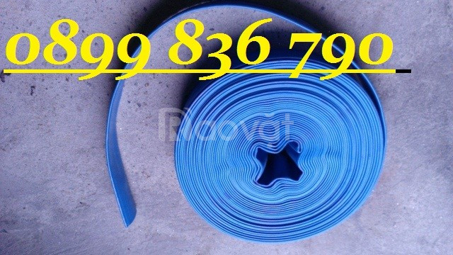 Ống bạt xanh bơm nước phi 60 giá rẻ