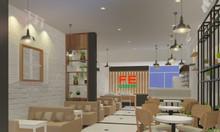 Thiết kế trang trí quán cafe theo yêu cầu