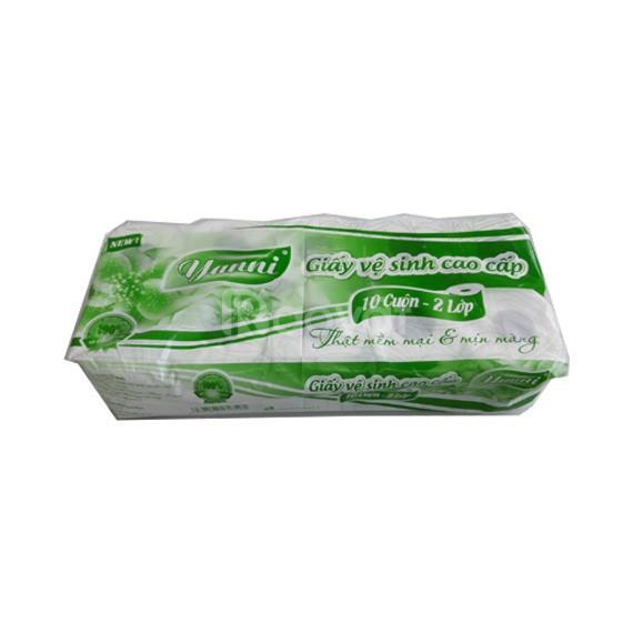 Giấy vệ sinh cuộn lớn, giấy vệ sinh cuộn nhỏ miền tây