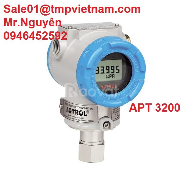 Đồng hồ đo áp (Guage pressure) suất APT3200-G/F - Autrol VietNam   (ảnh 1)