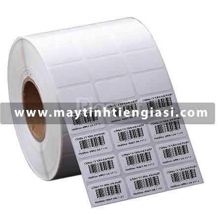 Nơi bán giấy in tem nhãn mã vạch, tem decal, sticker dán ly trà sữa