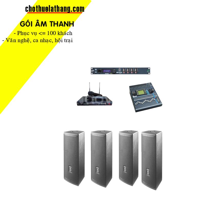 Cho thuê dàn âm thanh tại Bình Thạnh, Thủ Đức, quận 9, quận 2, Dĩ An