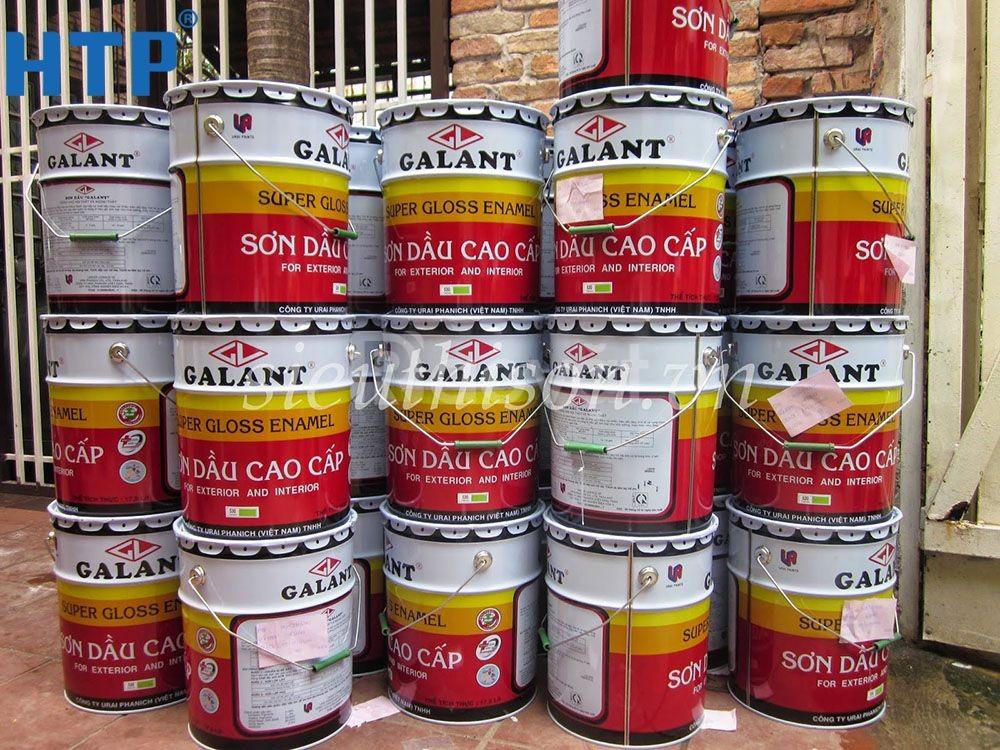 Đại lý bán sơn dầu Galant Thái Lan giá rẻ cho lan can đường giao thông