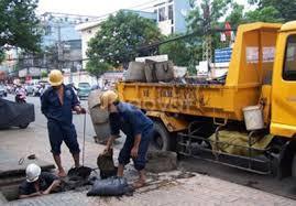 Thợ thông tắc bồn cầu chậu rửa tại Đội Cấn