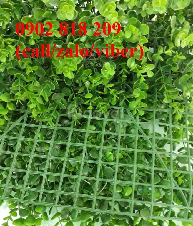 Tấm cỏ treo tường, cỏ nhân tạo trang trí tường