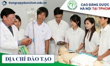 Chương trình đào tạo Cao đẳng Điều dưỡng hệ chính quy
