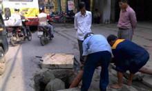 Thông hút bể phốt bồn cầu hút hố ga, bể phốt tại Hà Nội