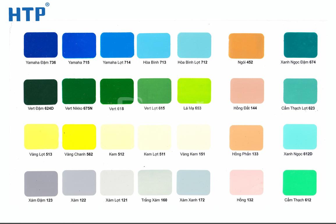 Catalogue sơn dầu bạch tuyết – bảng màu sơn dầu Bạch Tuyết