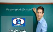 Trung tâm ngoại ngữ l-hope thông báo tuyển giáo viên tiếng anh