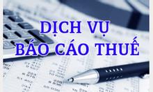 Nhận làm báo cáo thuế, BCTC, hoàn thiện sổ sách kế toán