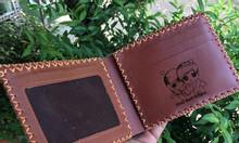 Bóp da bò nam handmade cao cấp giá rẻ