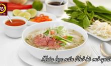 Khóa học nấu phở bò – học món Việt
