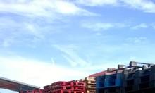Pallet gỗ thanh, pallet gỗ tấm, thùng rác công nghiệp tại Đà Nẵng