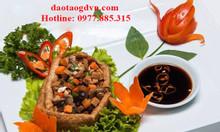 Học nấu ăn món chay tại Hồ Chí Minh