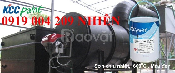 Sơn KCC chống cháy cho ống khói giá rẻ