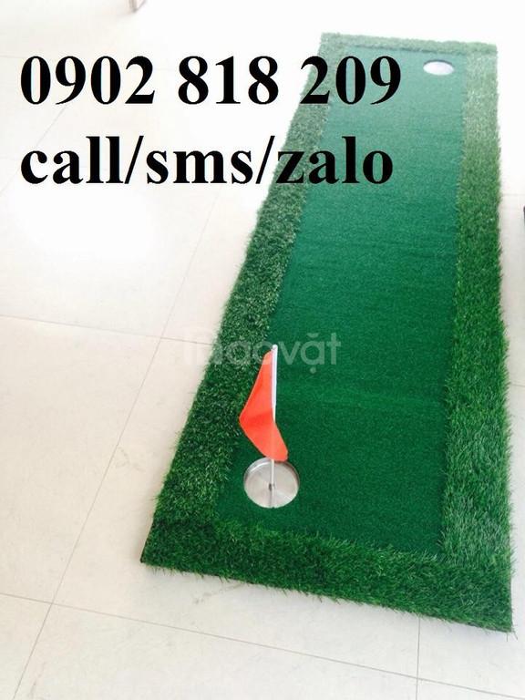 Thảm gạt golf mini, thảm put giá rẻ